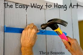 how to hang art the 2 seasons