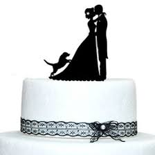 wedding cake topper with dog dog wedding cake toppers nz buy new dog wedding cake toppers