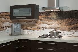 Kitchen Glass Tile - kitchen backsplash contemporary brown glass tile kitchen