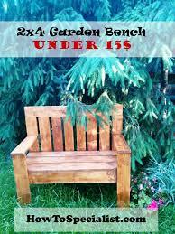25 unique wooden bench plans ideas on pinterest diy bench 2x4