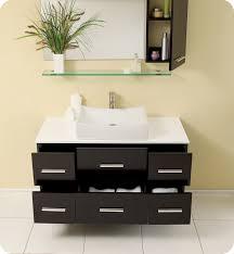 Modern Bathroom Cabinet Modern Bathroom Vanities Contemporary - Designer bathroom cabinets mirrors