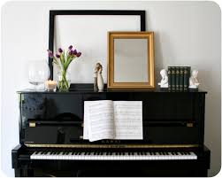 Music Decorations For Home Piano Display Vignette Mantle Home Decorating Ideas Diy Easy How