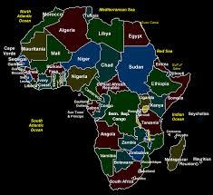 africa map test mrs baylor april 2006