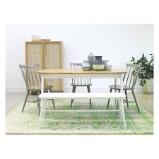 Oak Spindle Back Dining Chairs Talia Grey Spindle Back Dining Chair Oak Dining Table White