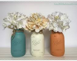 mason jars set wedding centerpieces home decor shabby chic