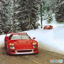 how many f40 are left f40 rally spec cars f40 rally