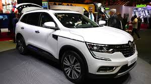 renault koleos 2017 review renault koleos suv makes european debut in paris