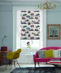 White Bedroom Blinds Creative Interiors Flamboyant Pop Art Roman By English Blinds