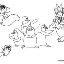 coloring pages penguins madagascar archives mente beta