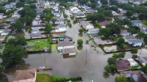 New Orleans Flood Map by Hurricane Harvey Rainfall Poses Danger To Ill Prepared New Orleans