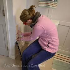 bathroom diy magazine rack tutorial four generations one roof