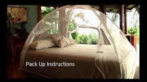 popup mosquito net folding instructions youtube