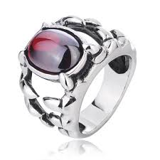 gents ring finger mens rings mens titanium gemstone rings
