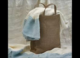 grocery bag tree cloth woven wood product