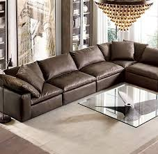 restoration hardware cloud sofa reviews charming restoration hardware sectional sofa with cloud cube modular