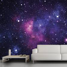 galaxy wall mural 13 u0027x9 u0027 54 trying to think of cool wall decor