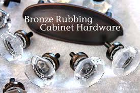 chagne bronze cabinet hardware diy how to give hardware a facelift using rub n buff available