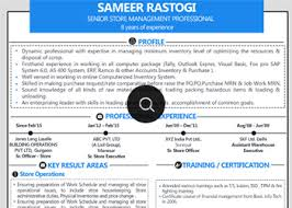 linked profile samples for professionals graduates freshers all