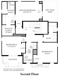 posante at gale ranch the preveza home design 2nd floor floor plan