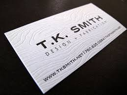 229 best letterpress business card images on business