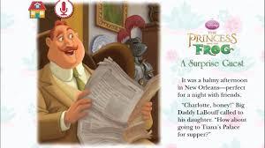disney princess frog movie book suprise guest