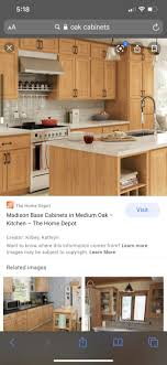medium oak kitchen cabinets home depot pin by holt on kitchen oak kitchen oak cabinets kitchen