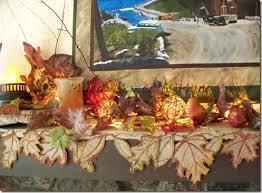 mantel scarf fall leaf burlap mantel scarf just paint it