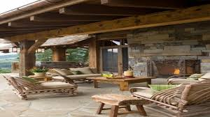 Covered Patio Designs Patio Designs Rustic Outdoor Covered Patios Covered Rustic Decks
