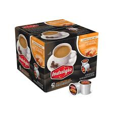 indulgio sweet and salty cappuccino 42 single serve cups per case