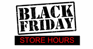 thanksgiving black friday store hours 2016 list