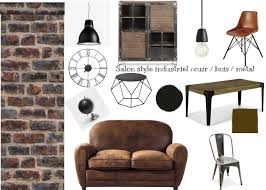 Salon Style Industriel by Propositions De Planches Tendances Hello Deco