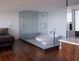 Bathroom Design With Glass Walls Quecasita - Glass bathroom designs