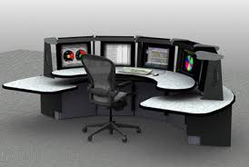 Control Room Desk 911 Dispatch Furniture Custom Consoles And Other Control Room