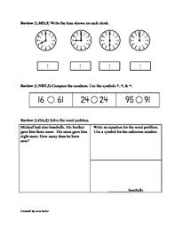 oa 4 first grade math common core worksheet missing addends