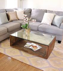 Wood And Glass Coffee Table Designs Interior Glass Coffee Table Decor Ideas Glass Coffee Table