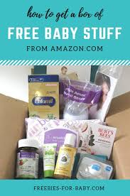 amazon baby registry welcome box what came inside free baby
