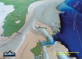 Continental Us Map Two New 3d Us Maps Raised Relief Geophysical And Aviation Themed
