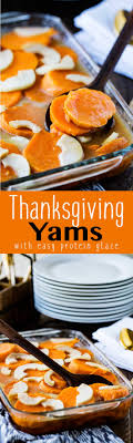 thanksgiving yams eazy peazy mealz