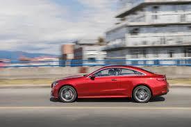 mercedes e400 coupe 2018 mercedes e400 4matic coupe test review