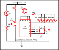 led christmas lights circuit diagram and working circuit diagram
