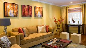 ideas to dacor your living room with bright colors interior color