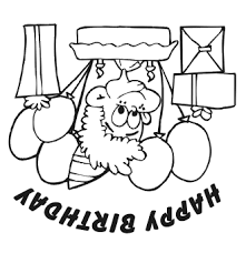 printable coloring birthday card boy any age