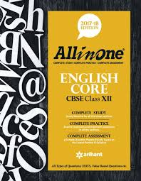 cbse all in one english core class 12th 2017 18 buy cbse all
