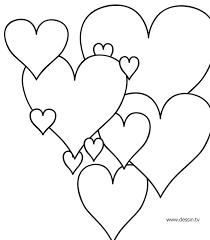 dessin coeur a colorier az coloriage