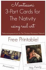 69 best montessori christmas images on pinterest christmas