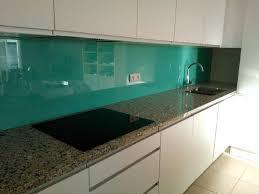 verre de cuisine crédence en verre