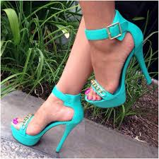 compare prices on sandals green heel online shopping buy low