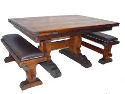 Southwest Dining Room Furniture Rustic Lodge Log And Timber Furniture Handcrafted From Green