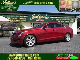 Car Rental New Port Richey Fl 2014 Cadillac Ats 3 6l Luxury 4dr Sedan In New Port Richey Fl