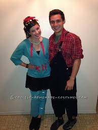 cheap couples costumes and cheap wreck it ralph costume